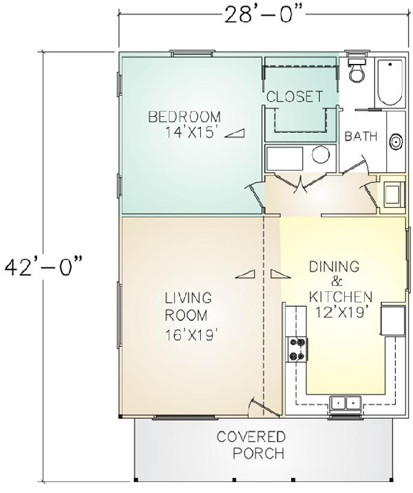 Ludwick Construction - Granny Flats 600 - 1,200 Ft²